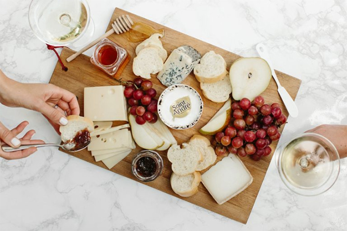 bastille day cheese board