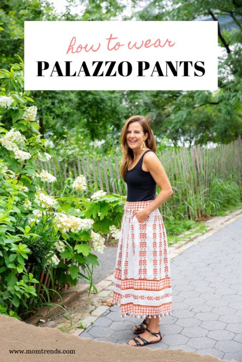 Embracing Summer Palazzo Pants