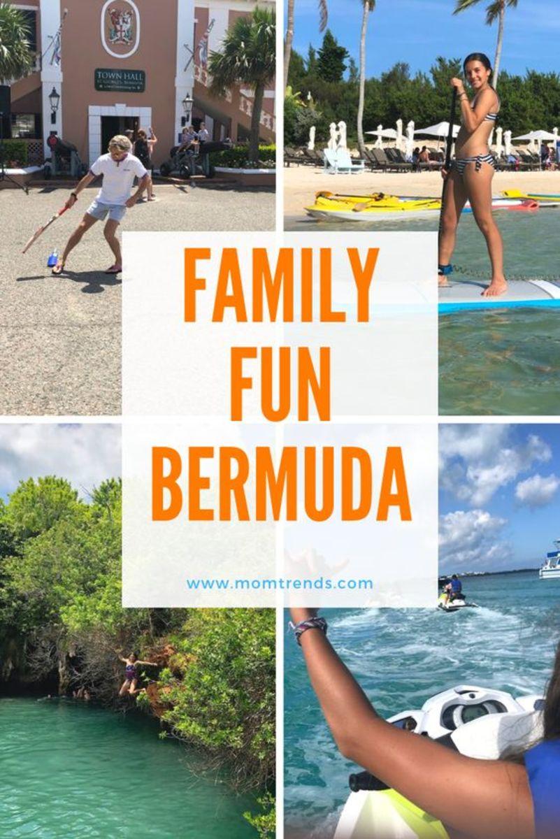 Family Fun Activities in Bermuda