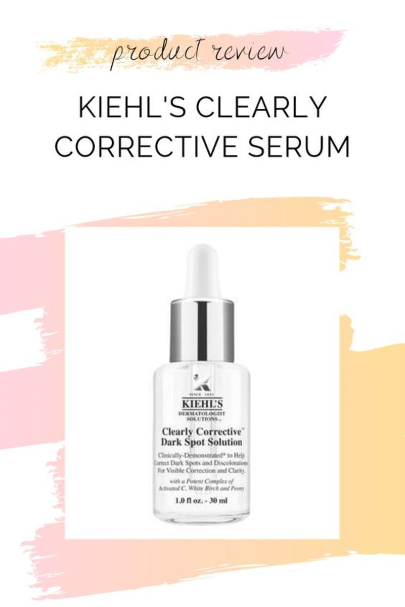 Product review Kiehl's clearly corrective serum