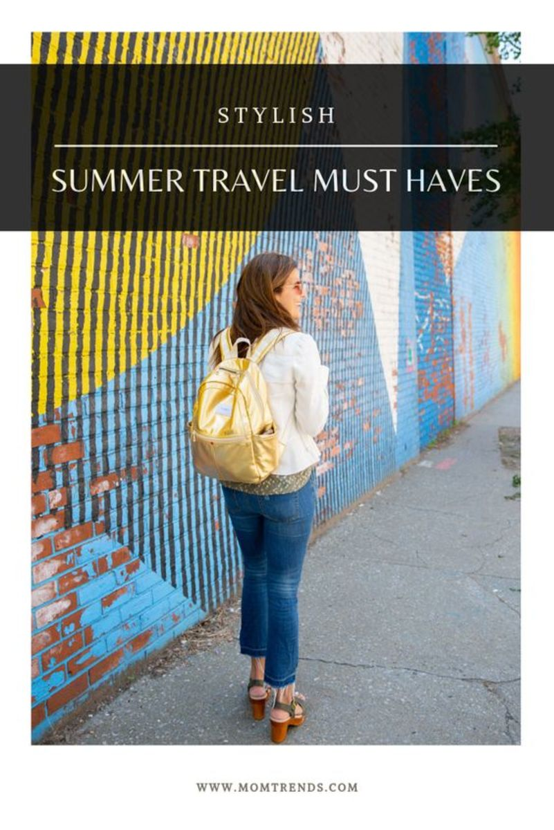 Stylish summer travel must haves