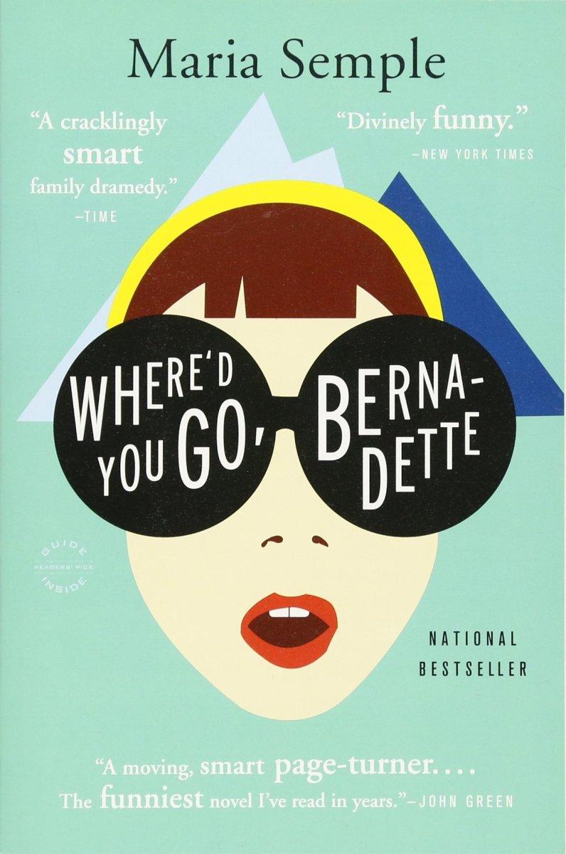 Where'd You Go Bernadette Book