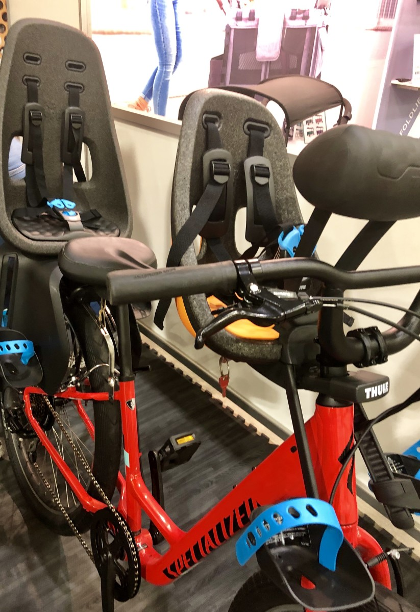 Thule bike seats for adventure