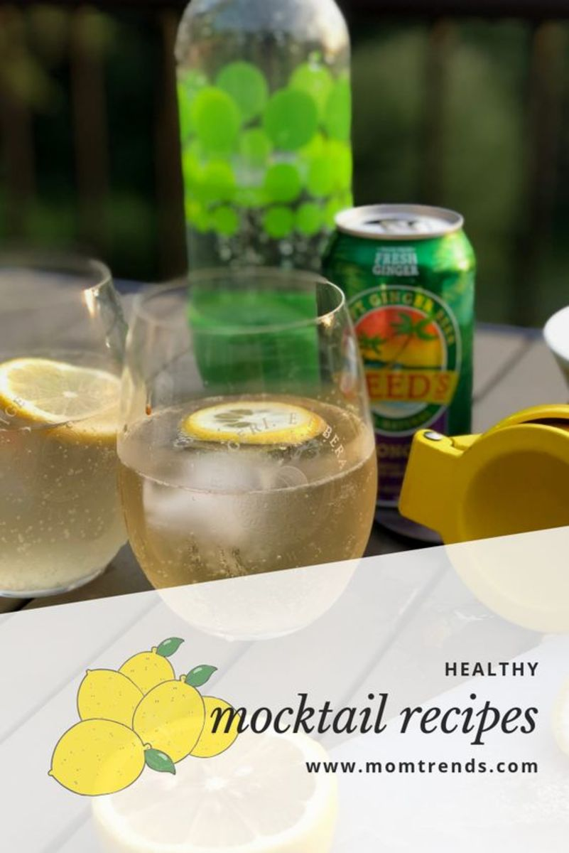 adult mocktails with loads of flavor and fun