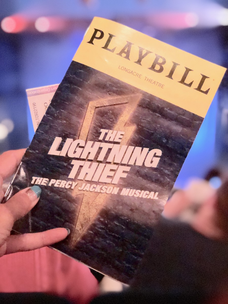Broadway Musical The Lightening Thief