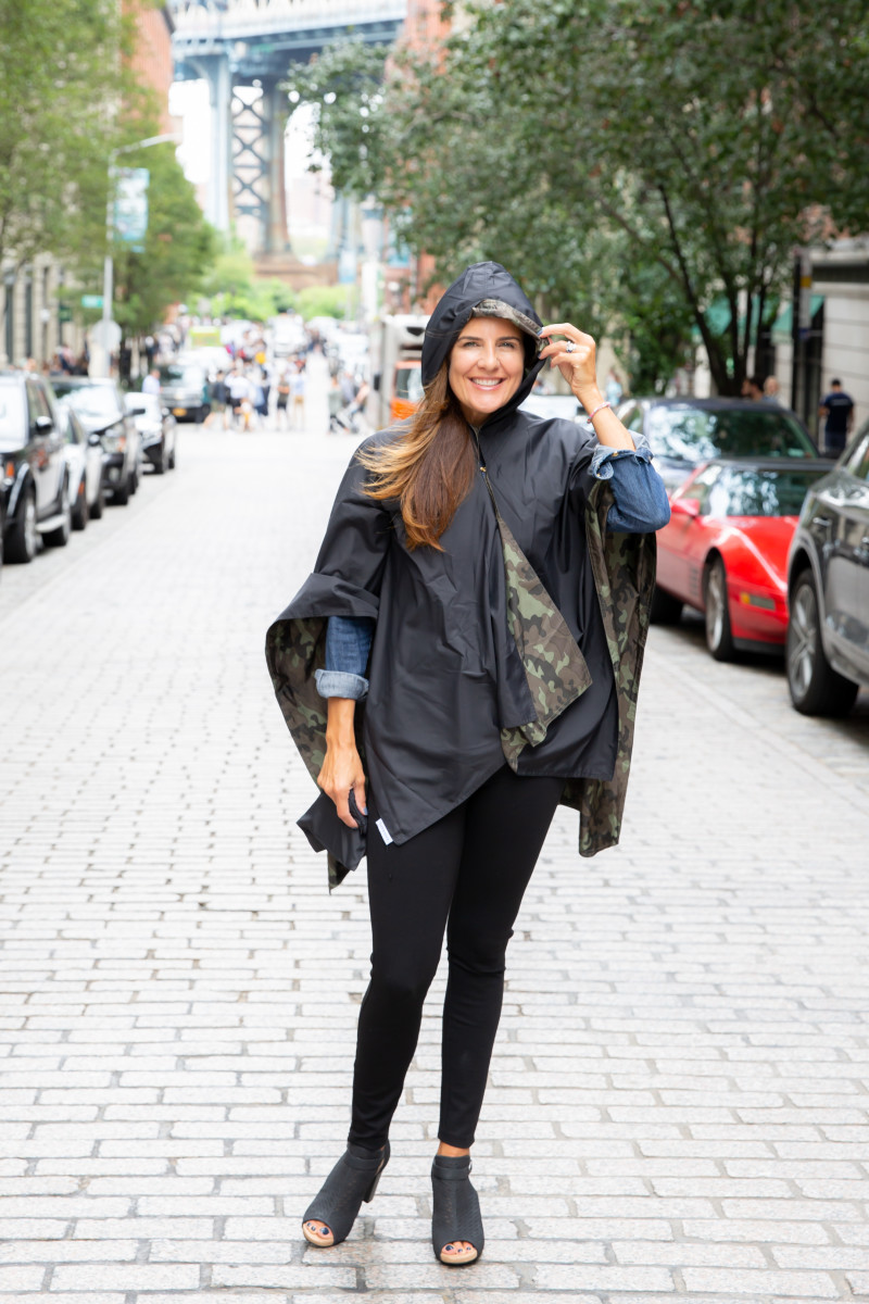 Cool and Functional Rain Gear