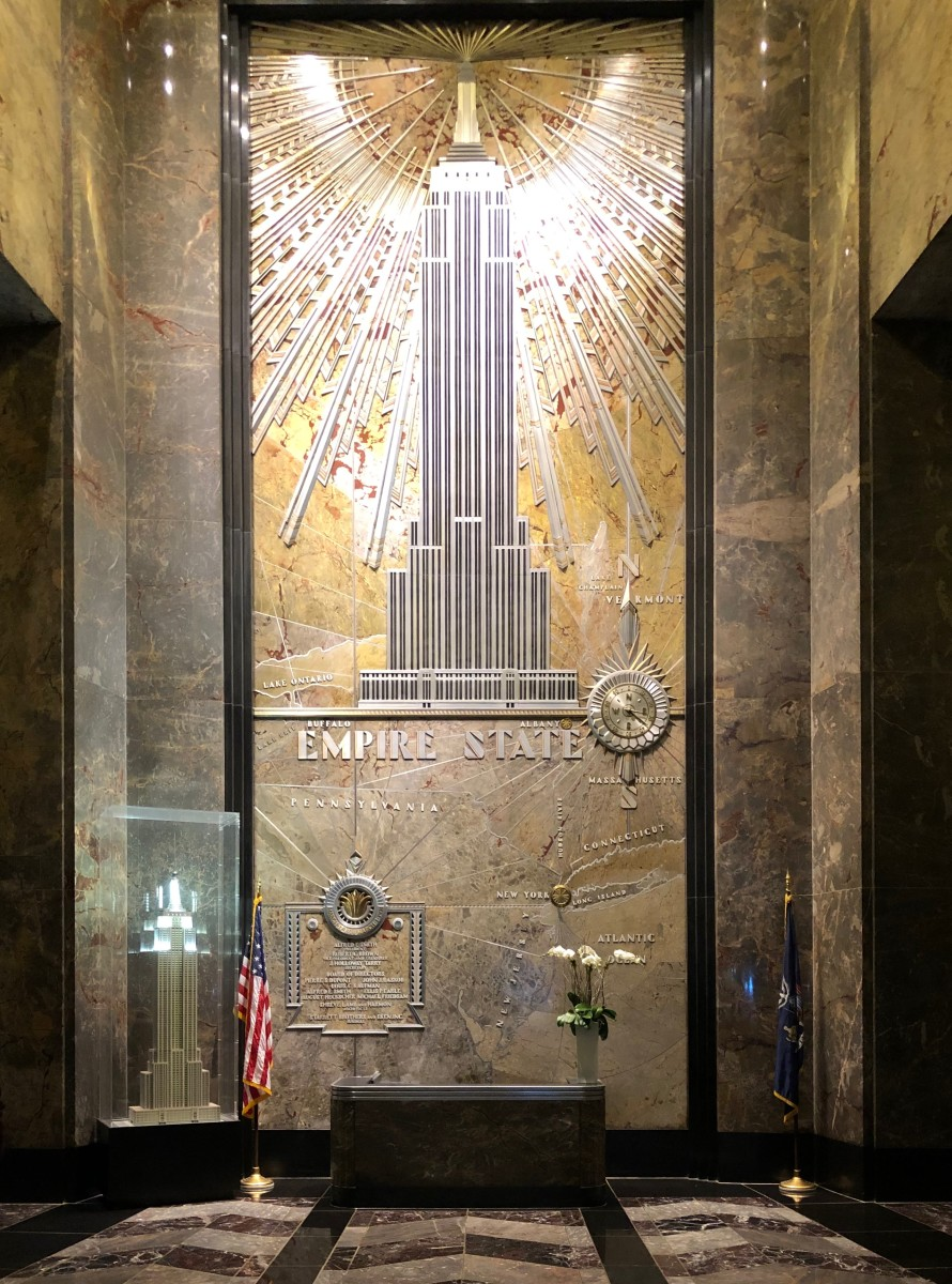 Visiting the Newly Renovated Empire State Building NYC