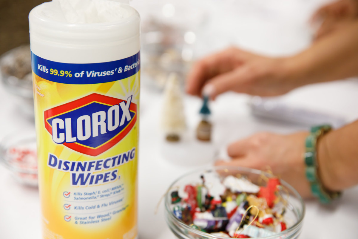 clorox crafting