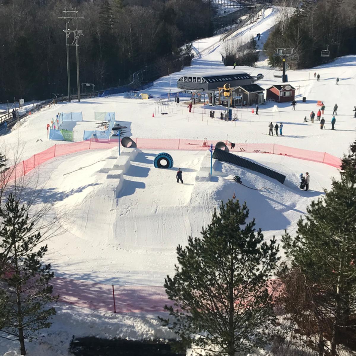 Okemo Debuts Jackson Gore Snowground Winter Playground