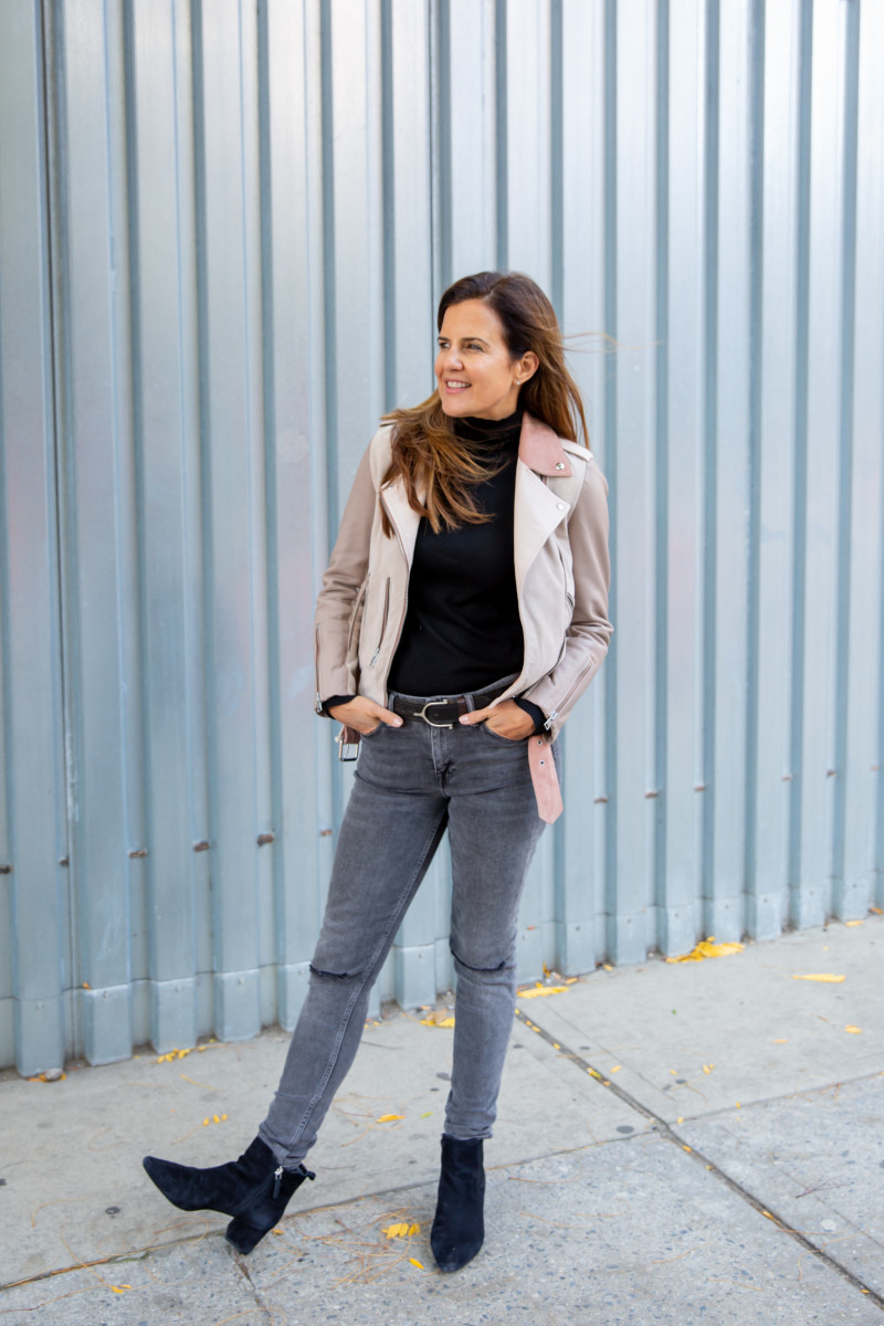 How to Style Distressed Denim and Not Look Like You Are Trying Too Hard
