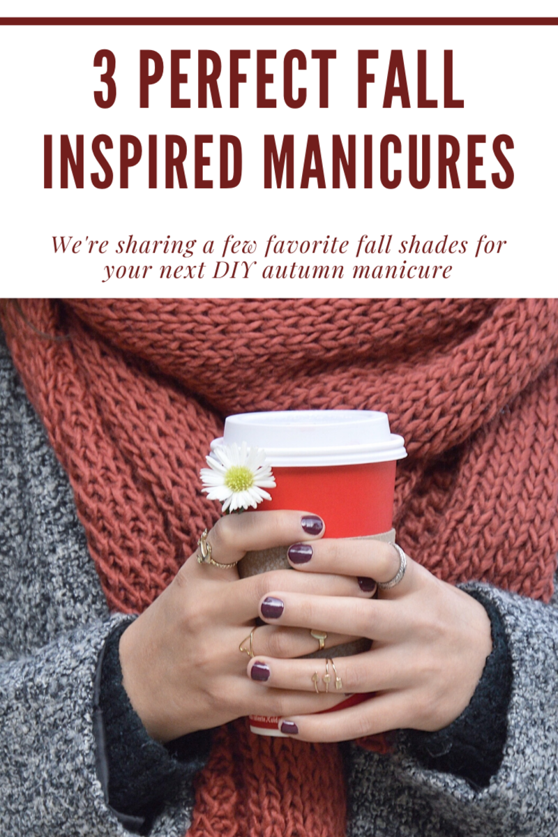 3 Perfect Fall Inspired manicures
