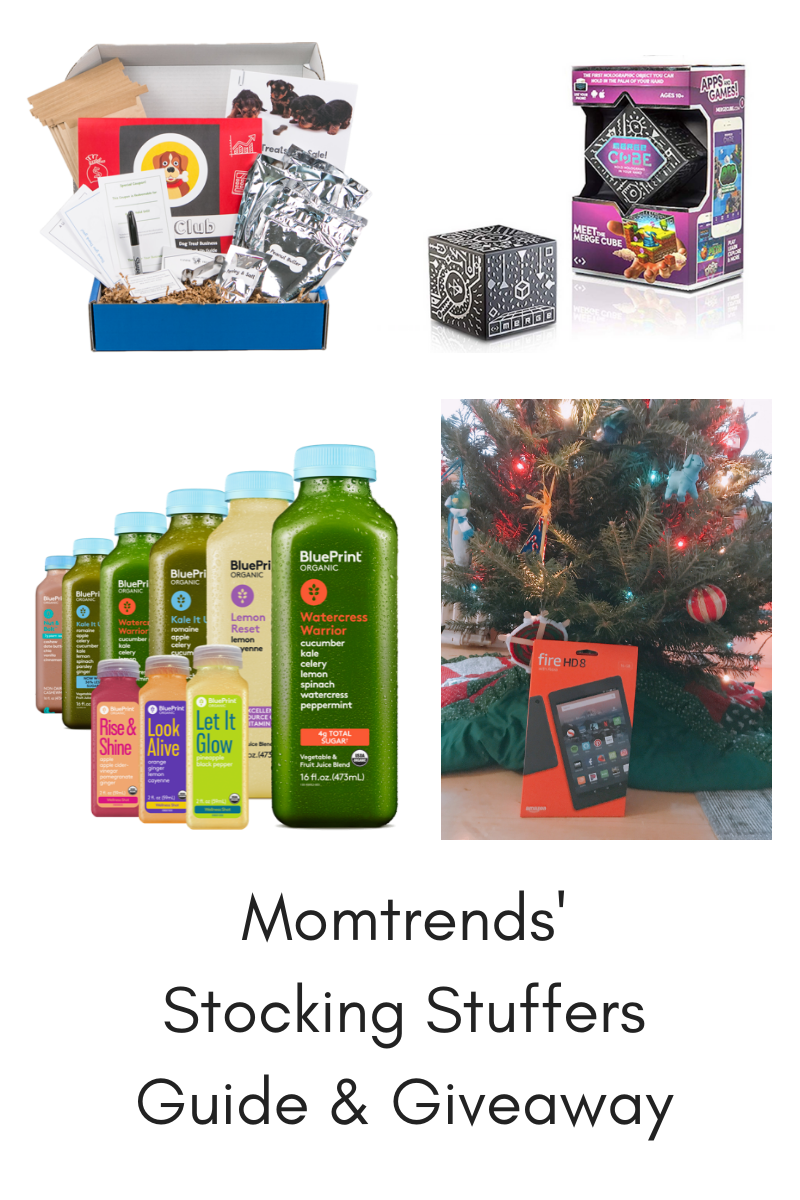 Momtrends' Stocking Stuffers Guide & Giveaway