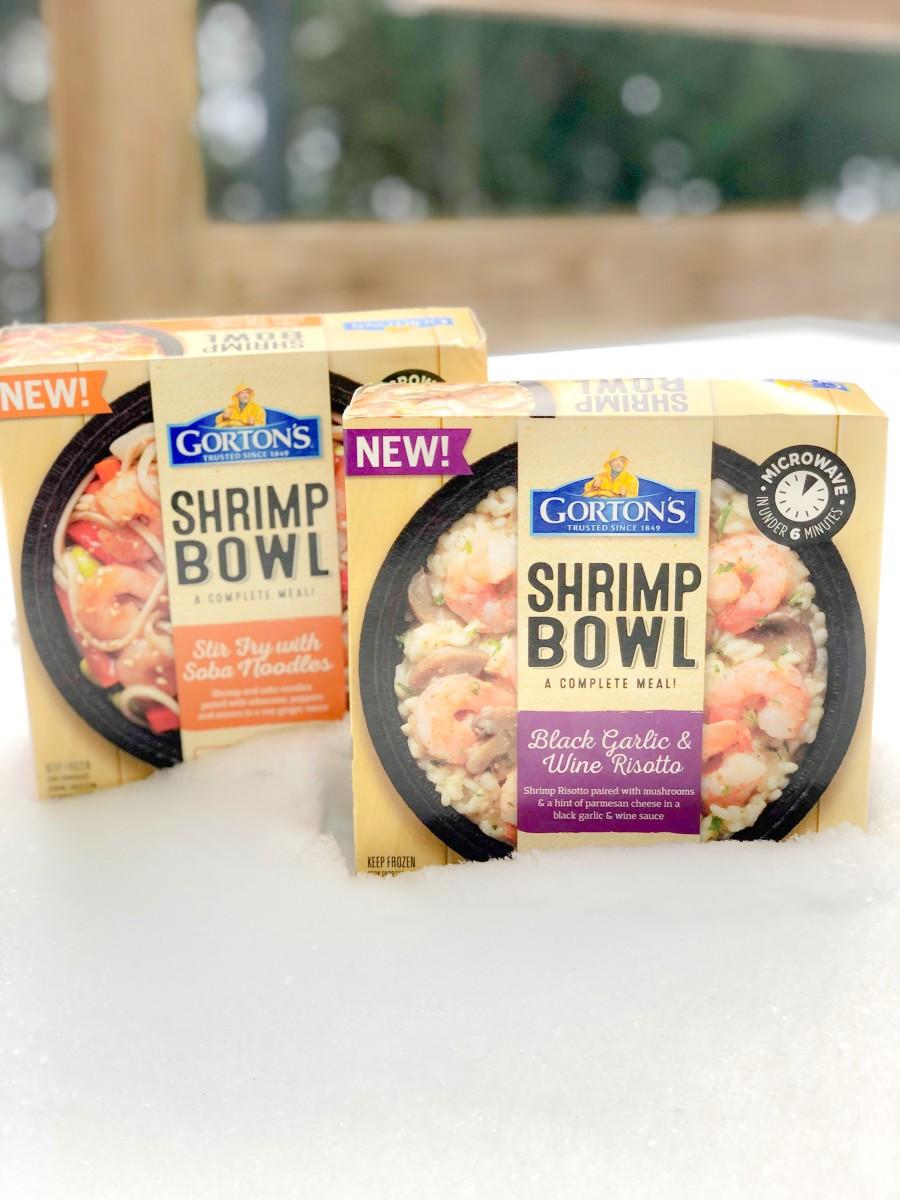Gorton's Shrimp Bowl Winter Meal Warm Up