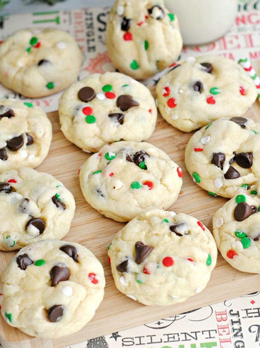 cookies santa mix