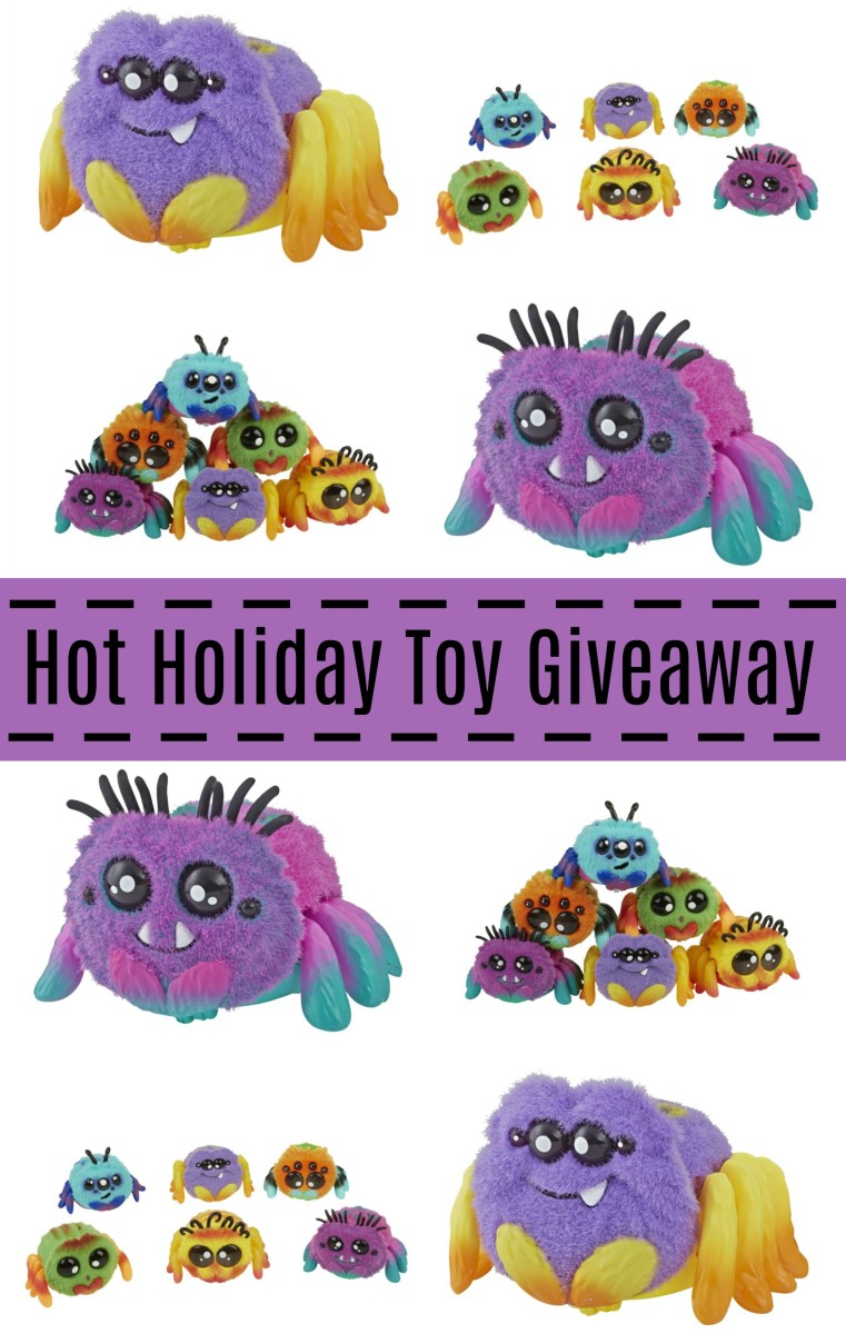 hot holiday toy giveaway