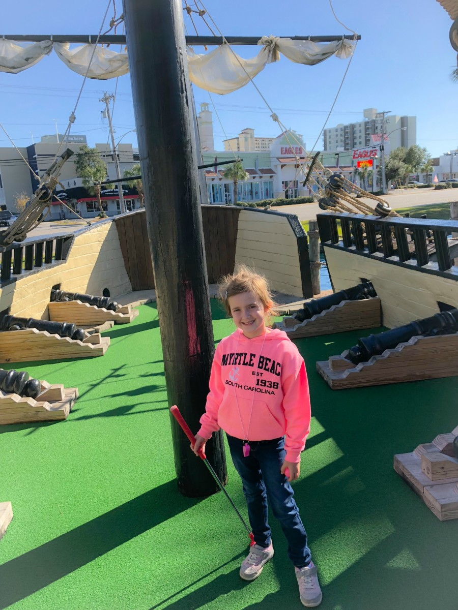 myrtle beach mini golf