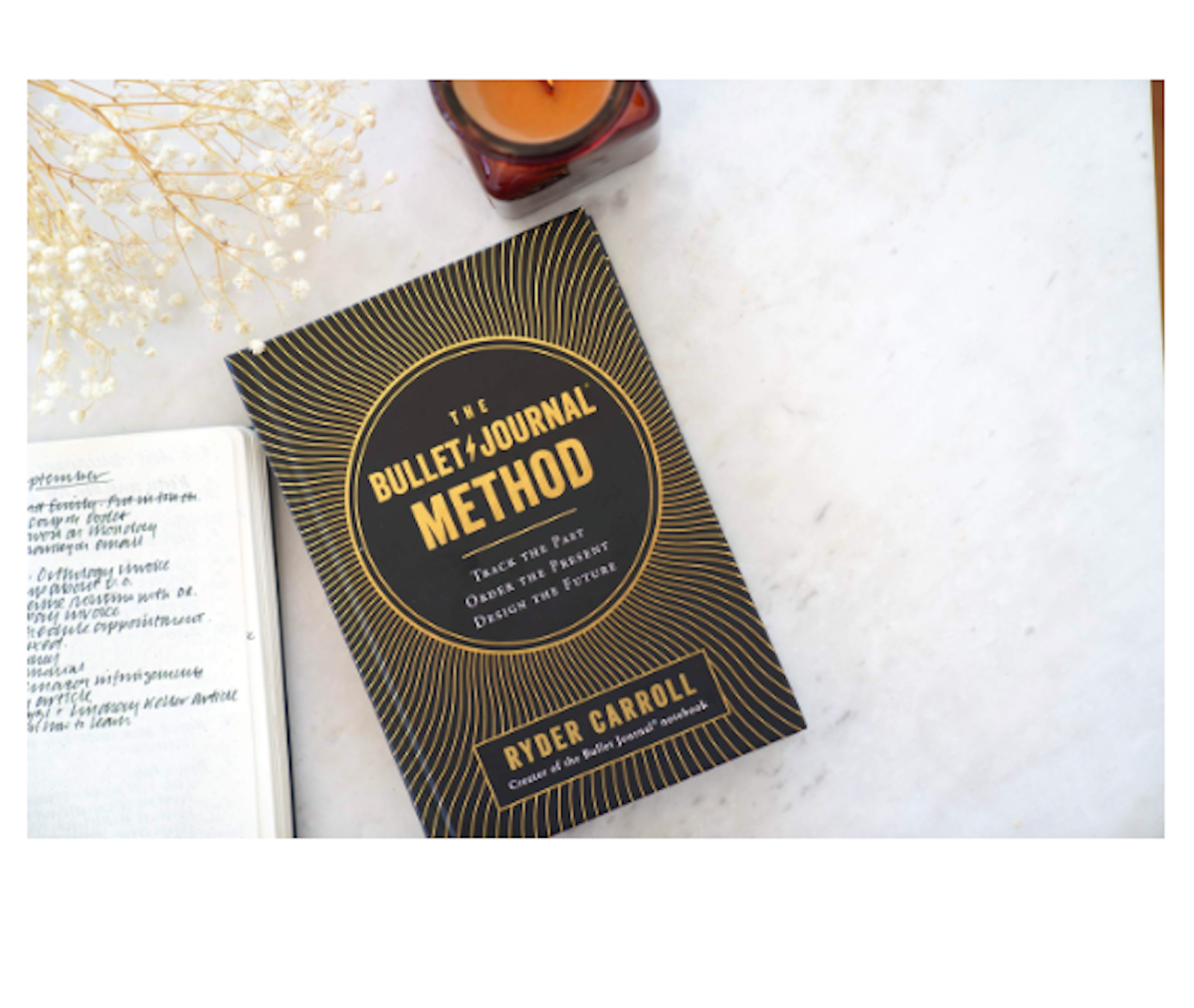 using the bullet journal method, bullet journal, the bullet journal method by ryder carroll, review of the bullet journal method, ryder carroll's bullet journal, how to use a bullet journal, bullet journal, intentional living, mindfulness, mental health, journal for better mental health