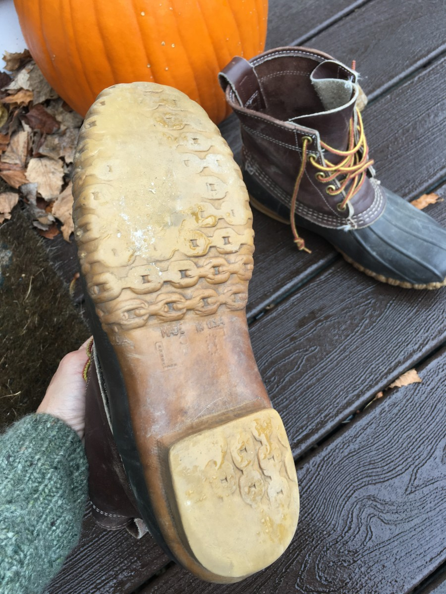 Resoling L.L.Bean Boots
