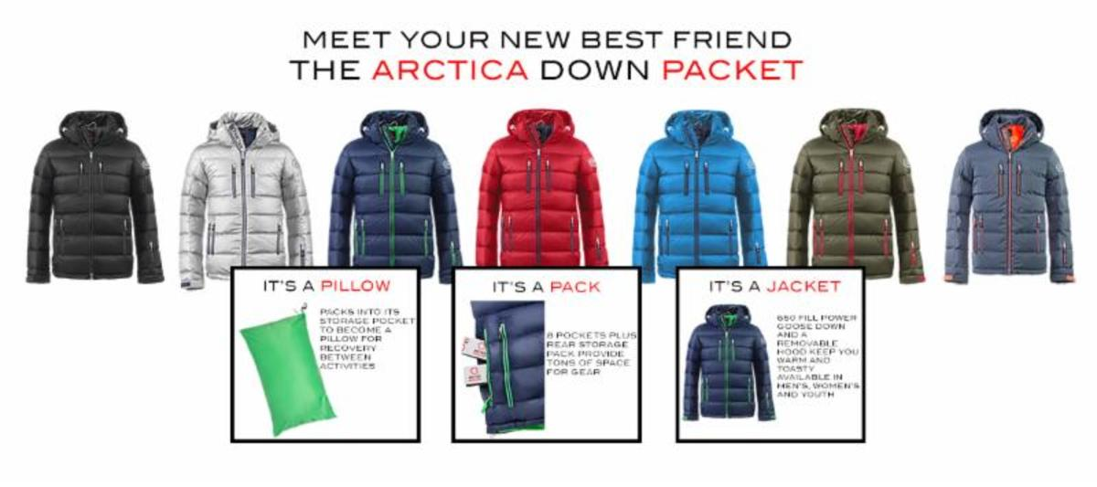 Arctica Packet jacket