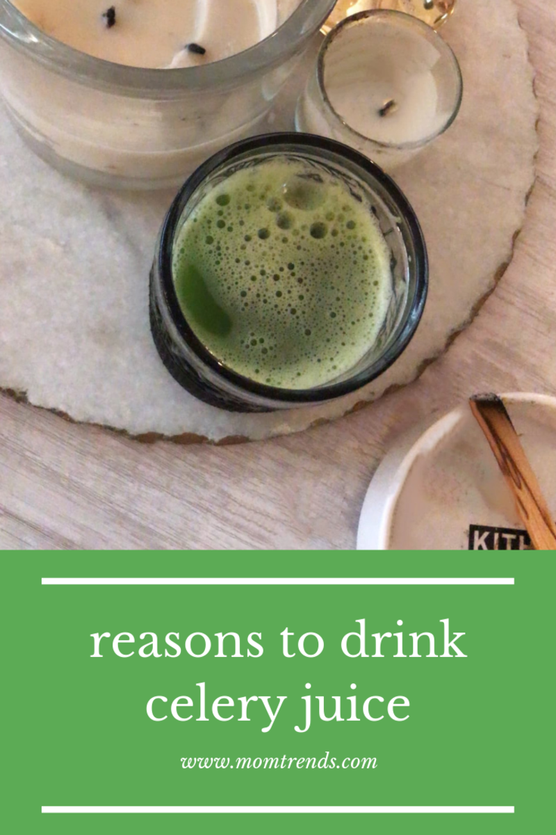reasons to drink celery juice