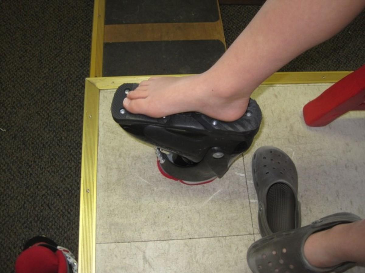 sizing ski boots kids