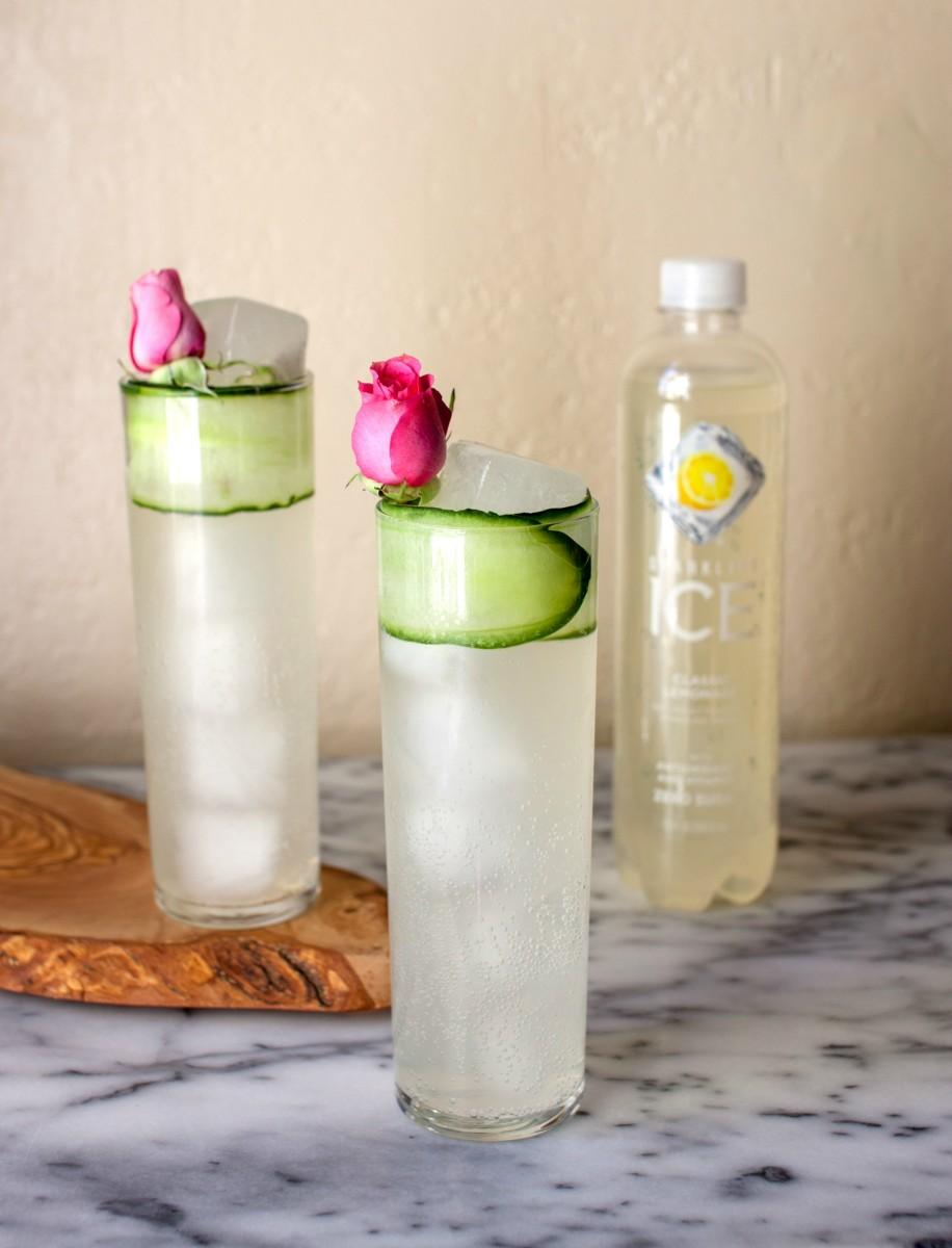 lemon cucumber cocktail