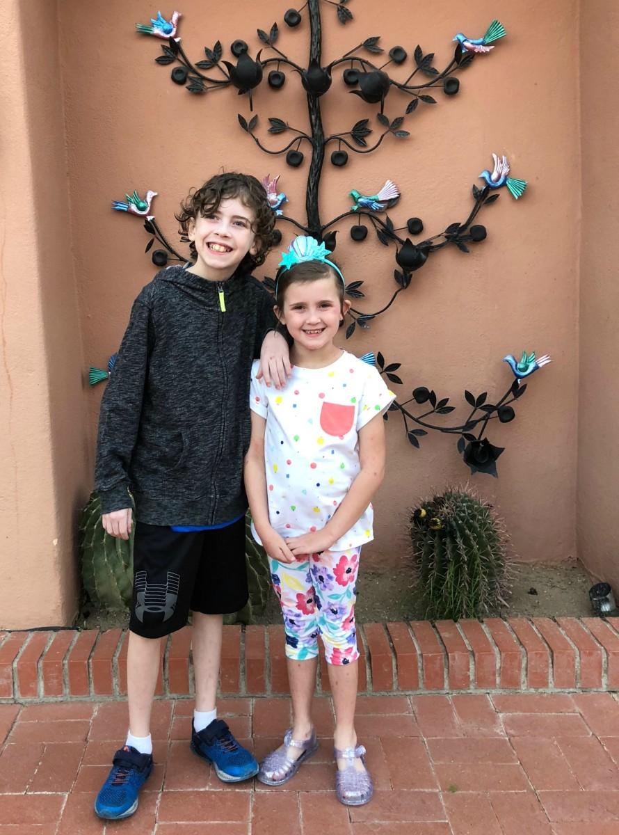 kids on spring break