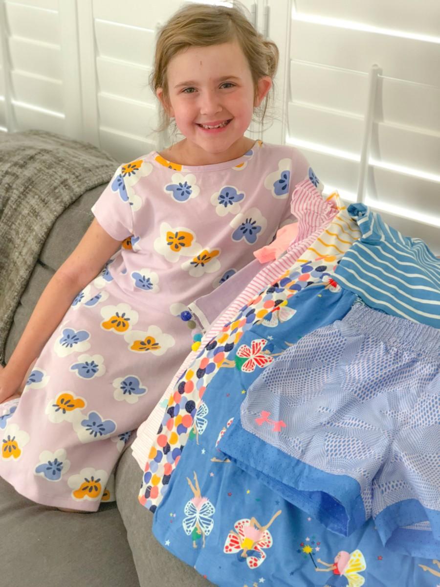 kids stitch fix dresses, shorts and tops
