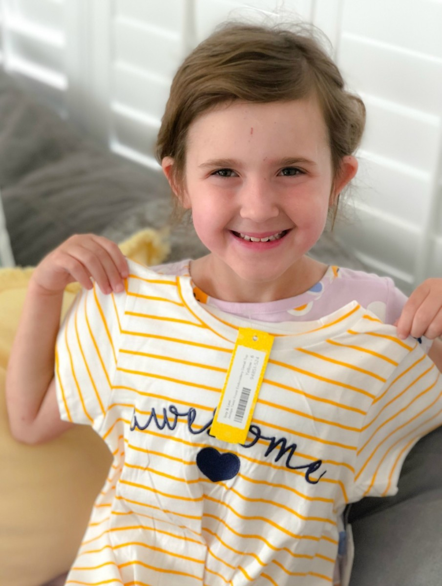 striped stitch fix top for kids