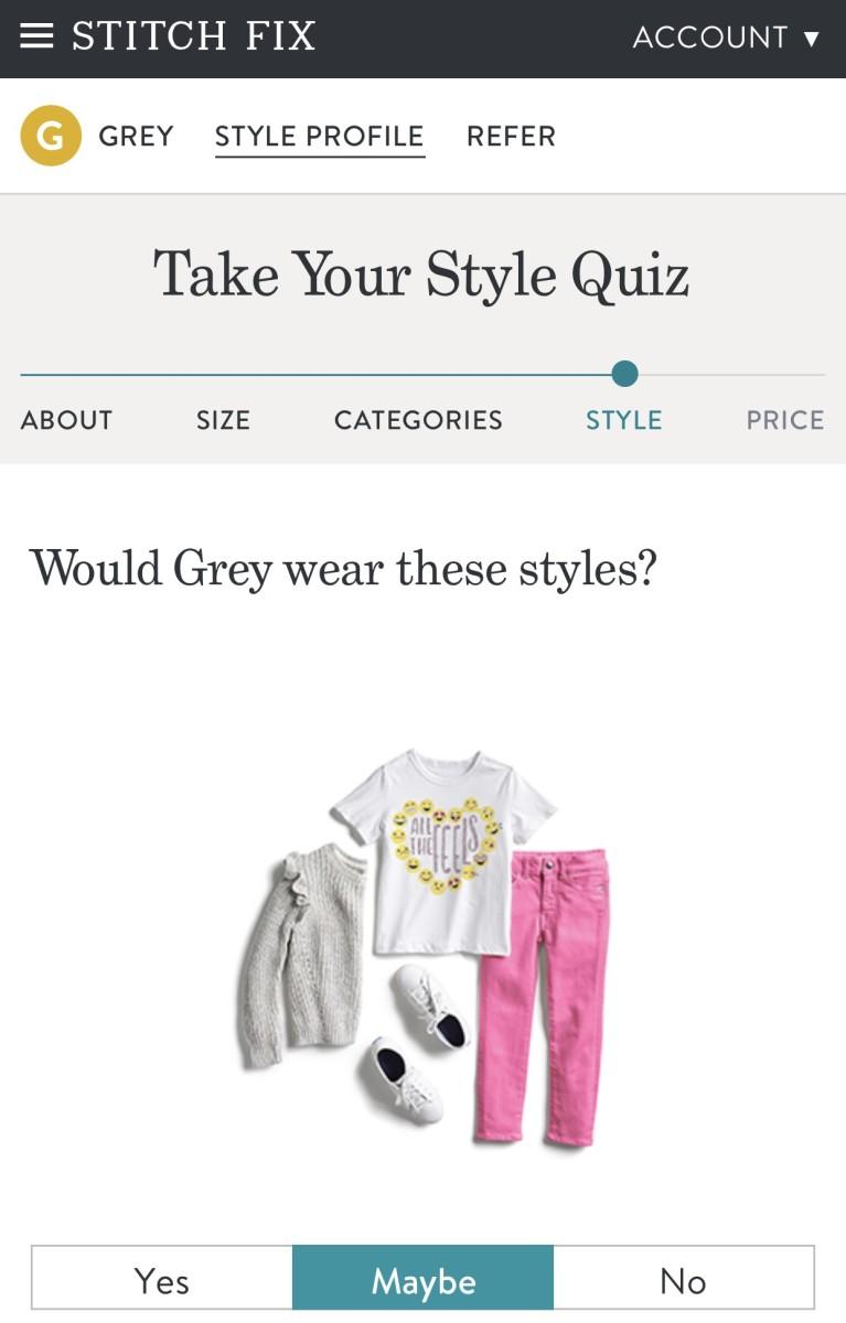 kids stitch fix style quiz
