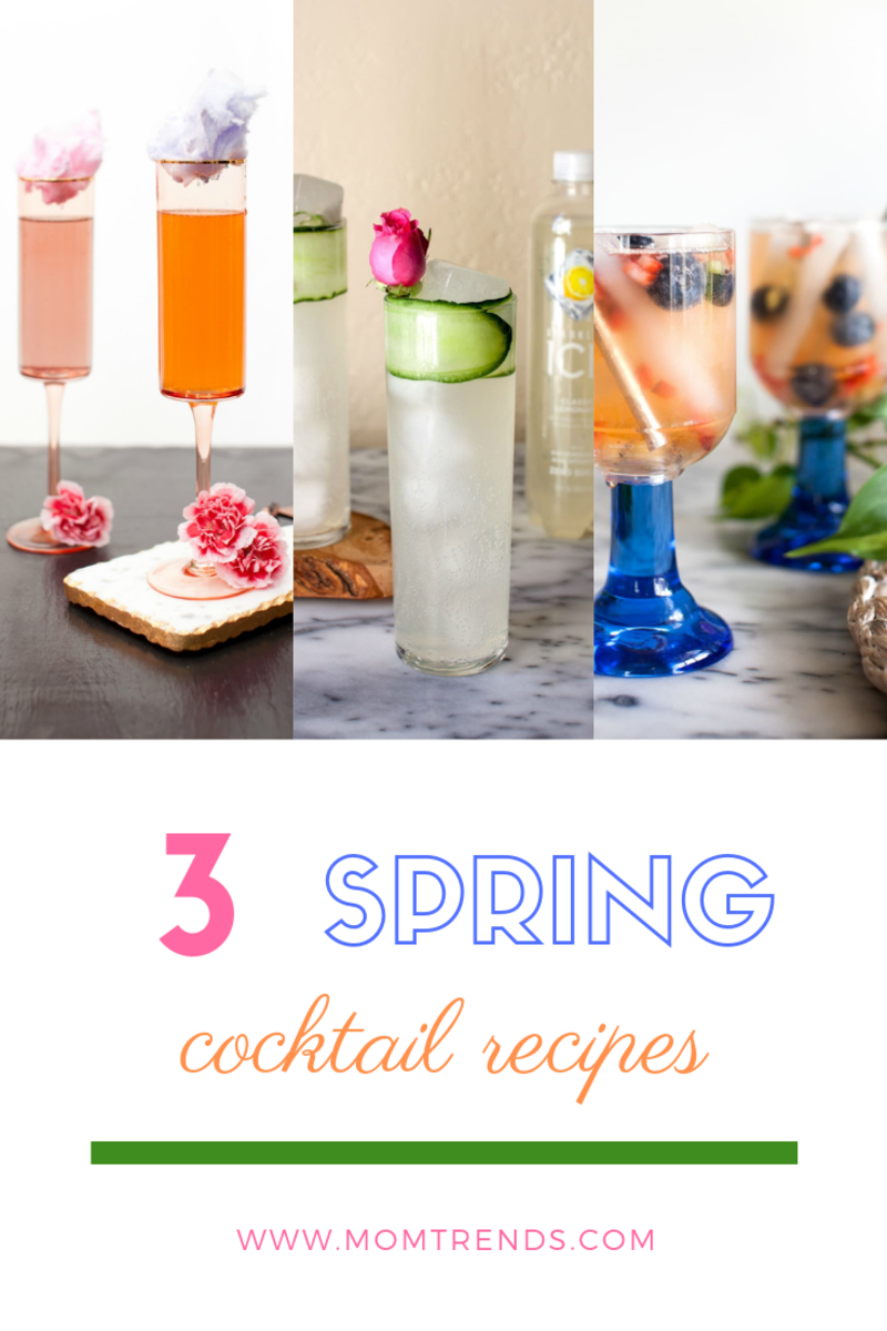 3 spring cocktails to try