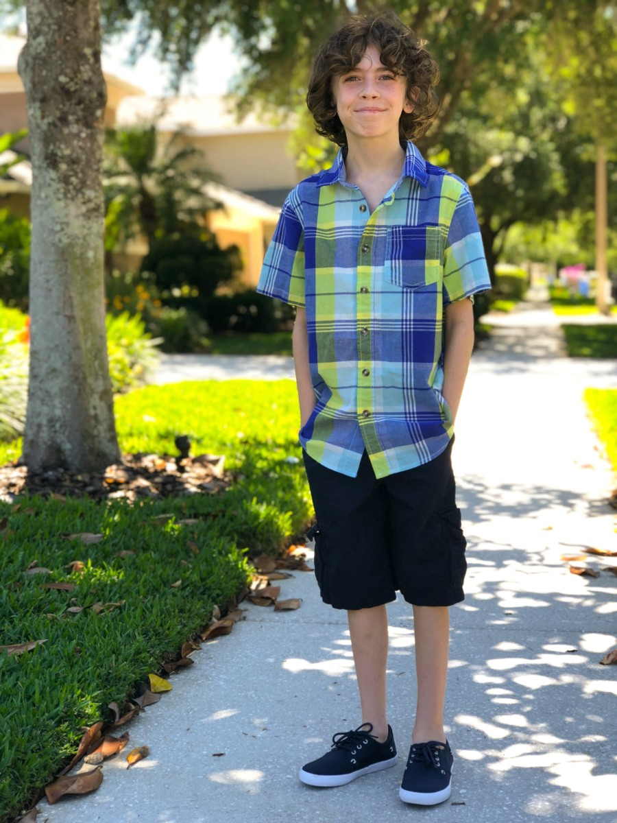 casual boys easter outfit
