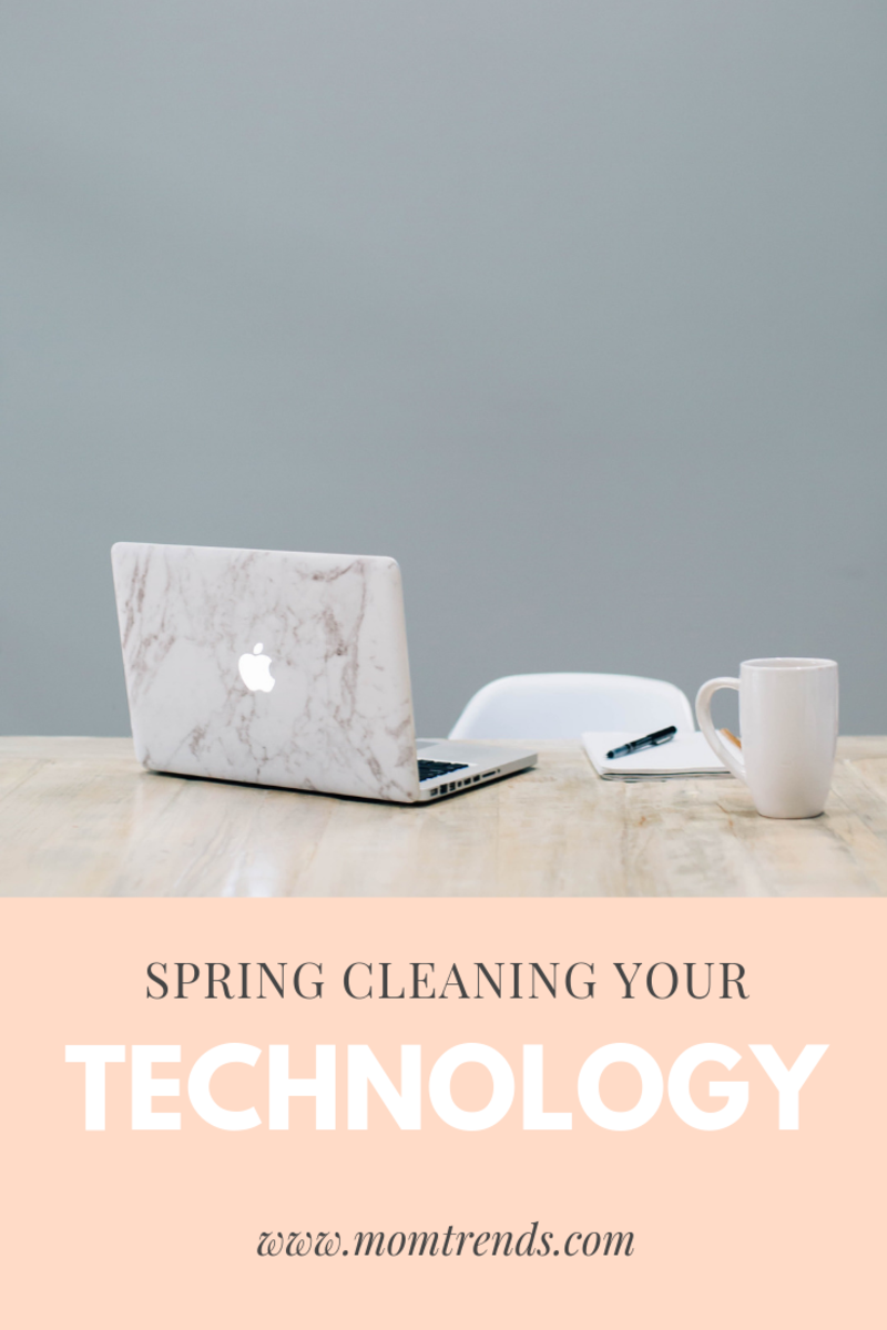 how to spring clean your technology