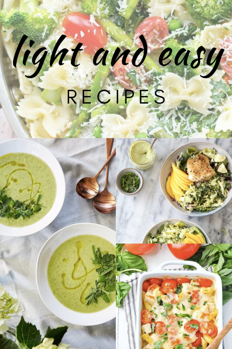 light spring recipes