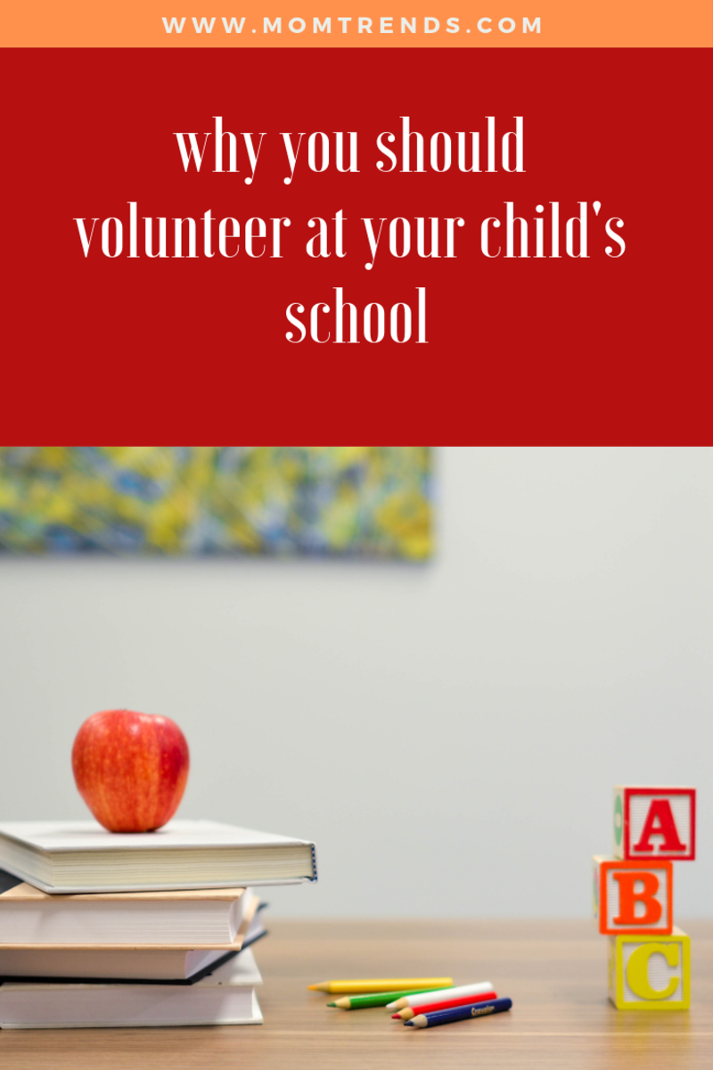 volunteering at your child's school