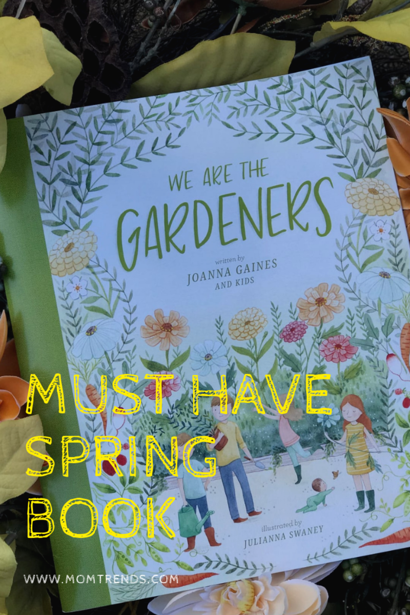 joanna gaines we are the gardeners book