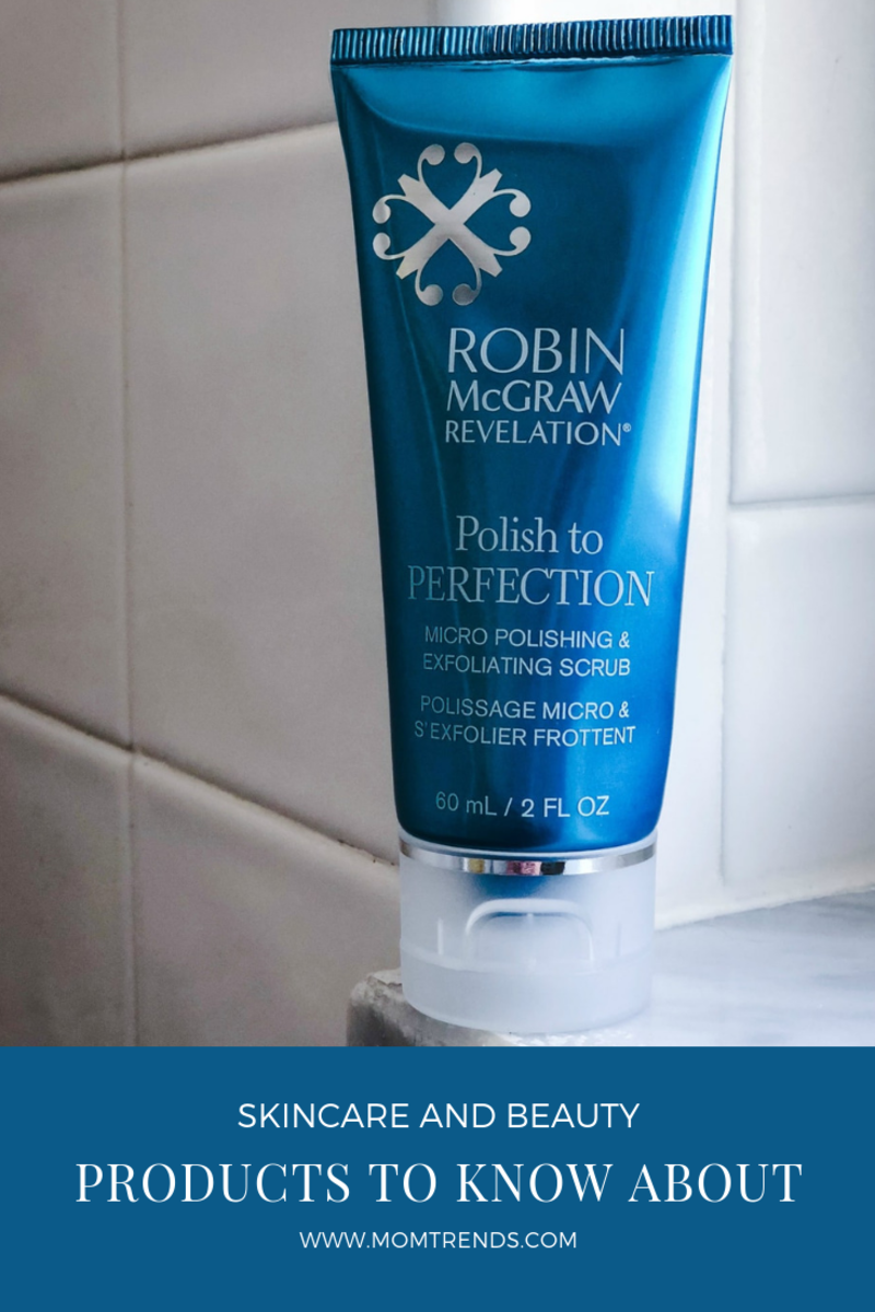 robin mcgraw polish to perfection exfoliating scrub in shower