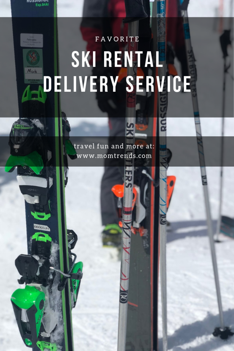 ski rental delivery service
