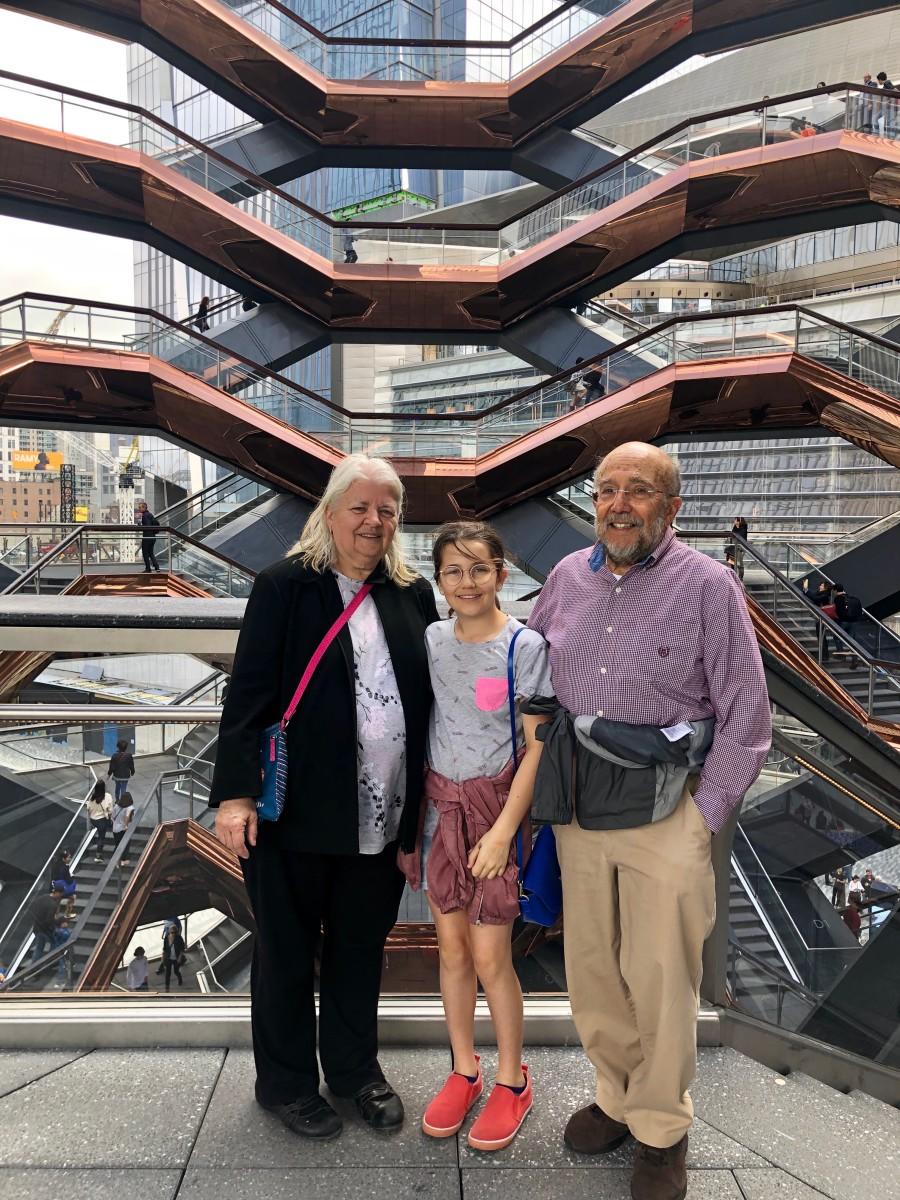 Family Visit to Hudson Yards New York City