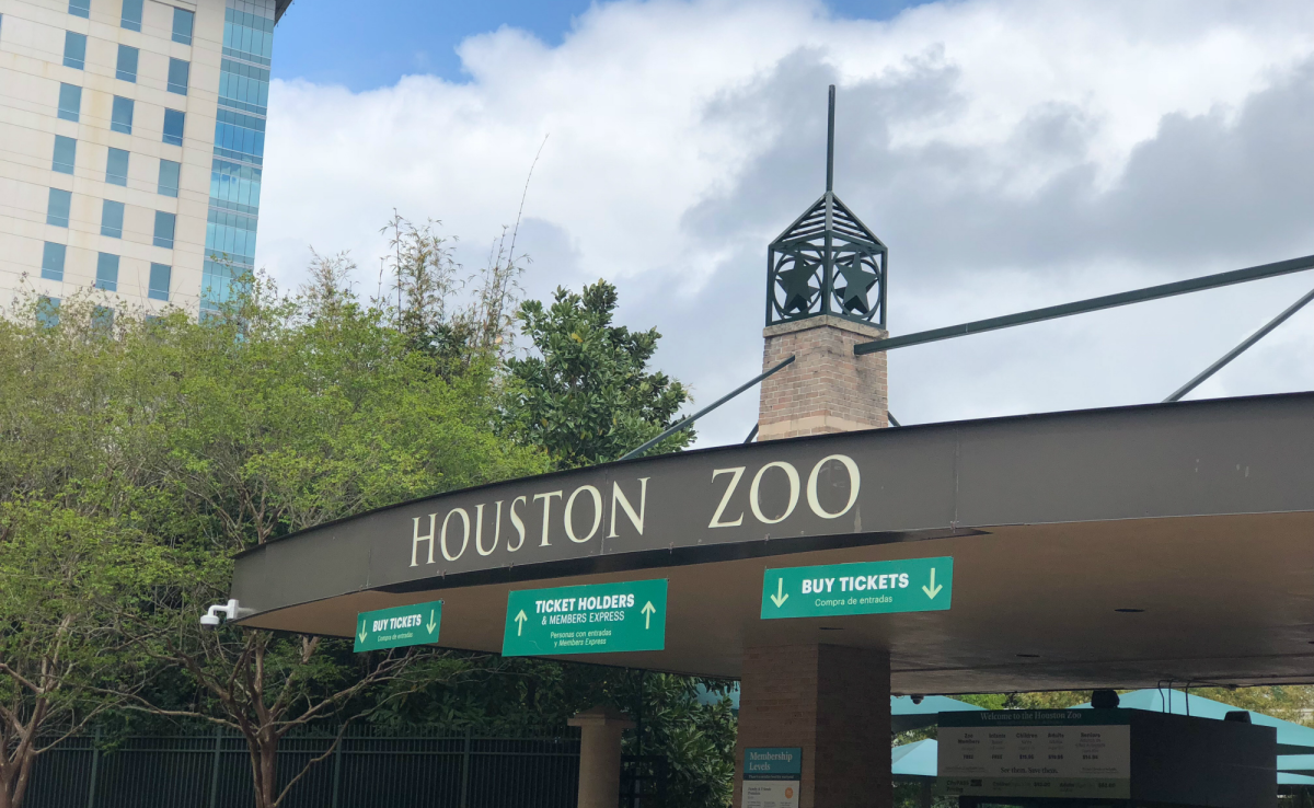 houston zoo sign