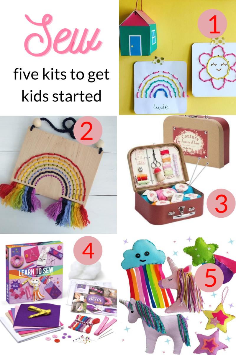 Ten Best Sewing Kits for Children