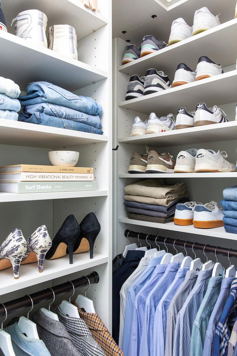 How to Set Up A Stylish + Organized Closet