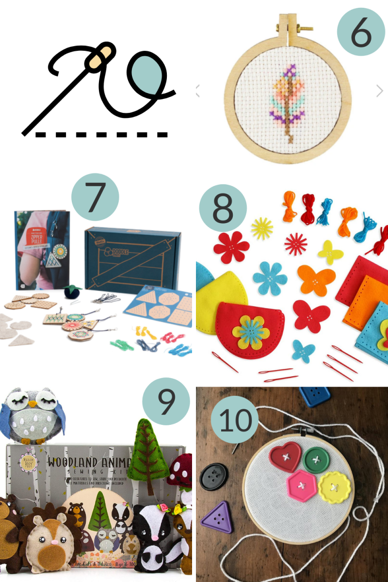 Ten Best Sewing Kits for Children