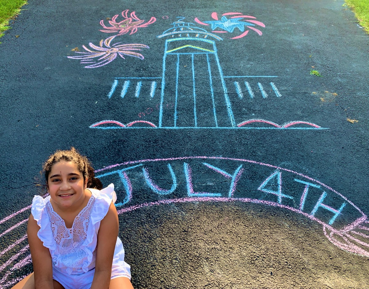 How to Give Back and Get Creative with Chalk Art