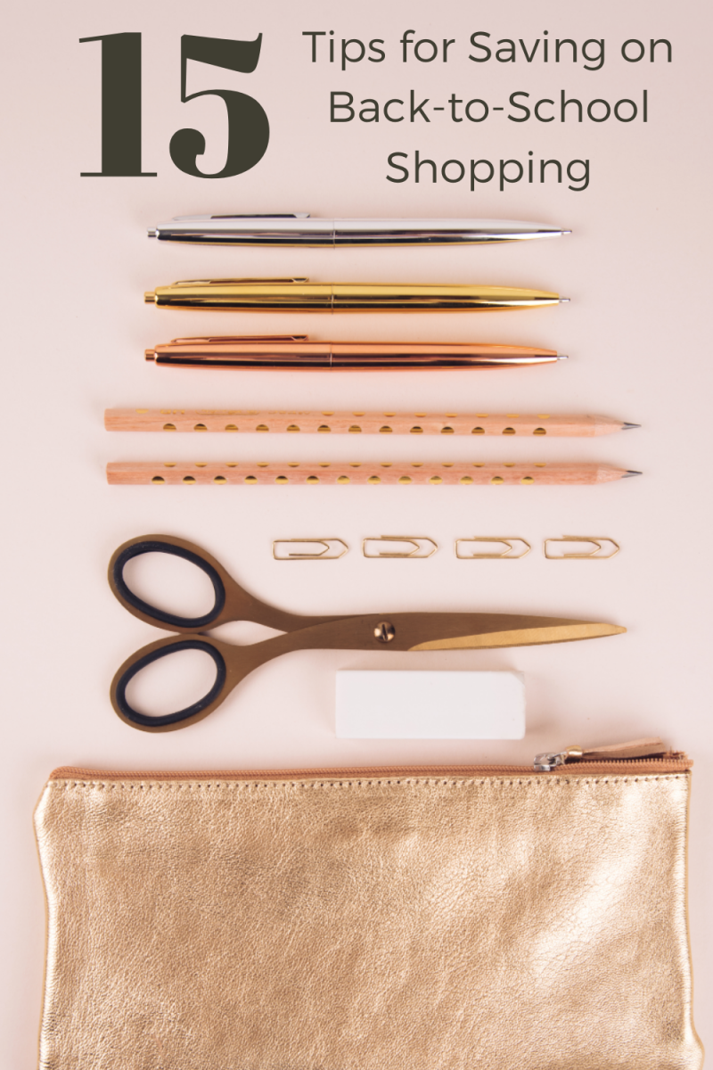 Tips for Saving on Back-to-School Shopping