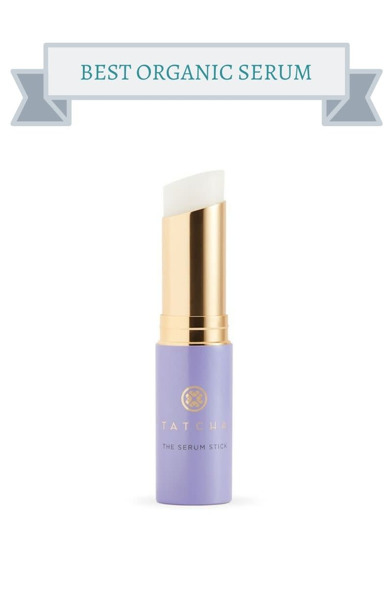 purple and gold serum stick