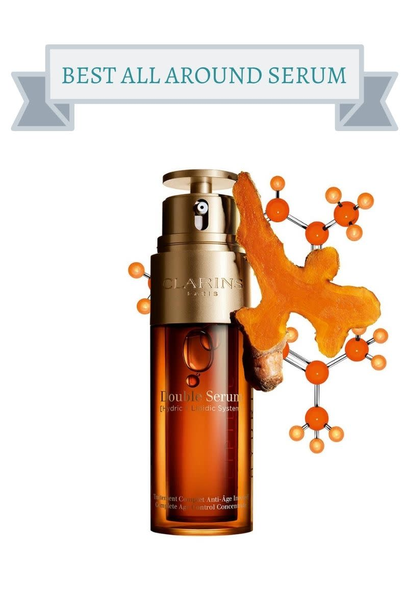 dark orange bottle of serum