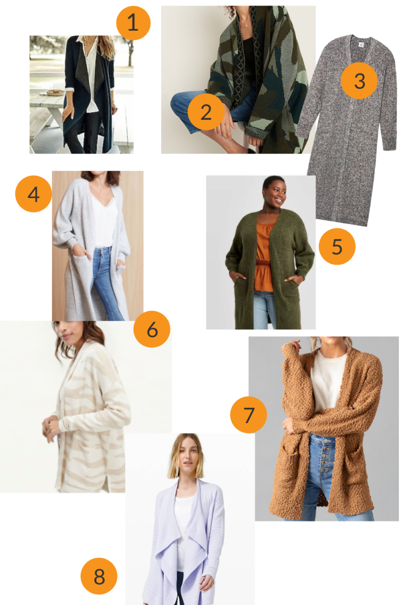 Styling a Favorite Trend the Long Fall Cardigan