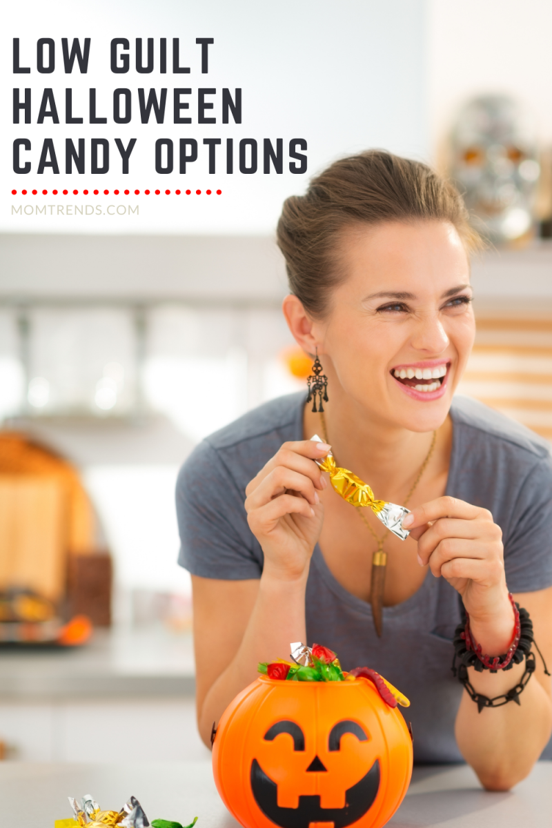 Low Guilt Halloween Candy Options