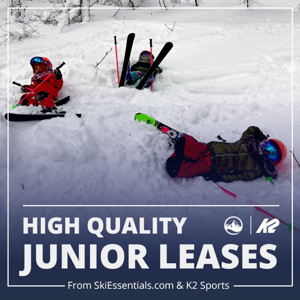 Easiest Ski and Snowboard Season Lease for Families